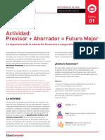 Actividad previsor+ahorrador