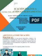 comunicacion politica y gubernamental ppt