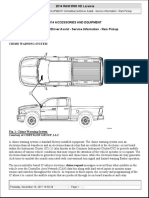 ACCESSORIES and EQUIPMENT ChimeBuzzerDriver Assist - Service Information - Ram Pickup