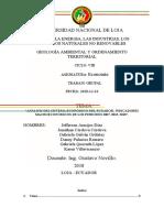 ANALISIS ECONOMICO DEL ECUADOR