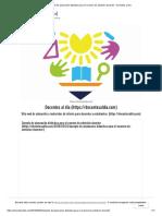 Ejemplo de planeación didáctica para el examen de admisión docente – Docentes al día MANUAL