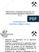 OPERACIONES MINERAS EN COLOMBIA