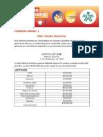taller unidad 1 estados financieros - Beatriz elena