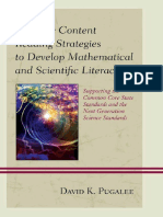 Effective Content Reading Strategies to Develop Mathematical and