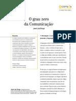 BRAGA, José Luiz. O grau zero da comunicação. E-Compós (Brasília), v. 18, p. 1-17, 2015..pdf