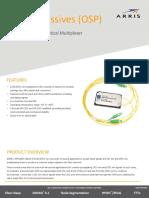 OP91M2S 1310 Nm_1550 Nm Optical Multiplexer Field Passives Data Sheet