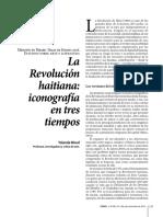 La revolución haitiana. Iconografía en tres tiempos.