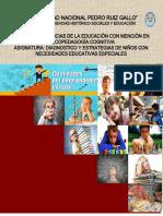 Diagnóstico y Estrategias de Niños Con Necesidades Educativas Especiales