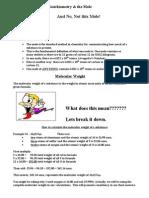 Stoichiometry-Classnotes