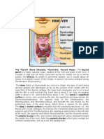 anaphysio of the thyroid