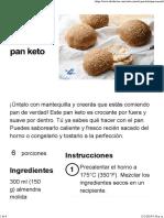 El pan keto - Diet Doctor