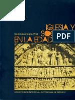 IOGNA-PRAT Dominique - Iglesia y Poder en La Edad Media