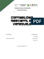 CONTABILIDAD MERCANTIL EN VENEZUELA