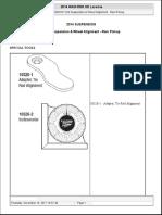 SUSPENSION Front Suspension & Wheel Alignment - Ram Pickup