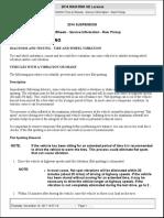 SUSPENSION Tires & Wheels - Service Information - Ram Pickup