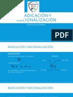 1ero de Secundaria - Radicación
