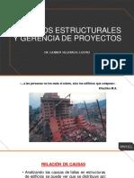 Daños estructurales y Gerencia de Proyectos