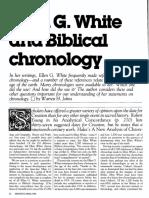 [JOHNS Warren H.] Ellen G White and Biblical chronology (Ministry 1984-04)
