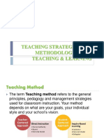 teaching styles and strategies report