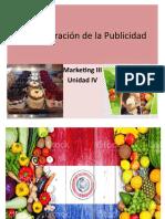 Administración de La Publicidad - Unidad 4 - Marketing III