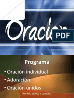 presentacinoracion
