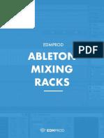 EDMProd Ableton Mixing Racks Manual