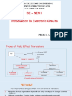 Lect 2,3 - Introduction to Electronic Circuits