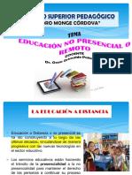 EDUCACIÓN NO PRESENCIAL EIB VII 10.08.20.ppt
