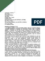 CREDO Trinidad Catequesis de Juan Pablo II.doc