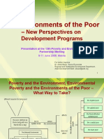 The Environments of the Poor - presentation