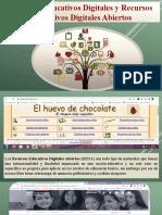 Recursos Educativos Digitales y Recursos Educativos Digitales Abiertos