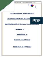 Guía Grado 5° matemáticas 3° periodo-2020 - copia (2)
