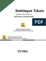 Materi Bimbingan Teknis RIC rev 1