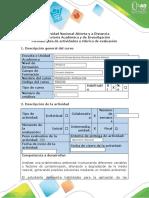Guía de actividades y Rúbrica de evaluación - Fase 3 - Modelación integral del medio ambiente