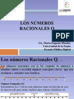 Números Racionales, una breve introducción