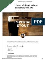 Receita Imperial Stout_ 20L - Homini Lupulo