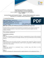 Activity Guide and Evaluation Rubric - Unit 2 - Phase 3 - Characterize the Logistics Network of a company using a Reference Model.pdf