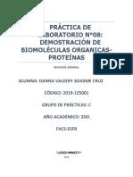 LABORATORIO N°08 BIOLOGIA