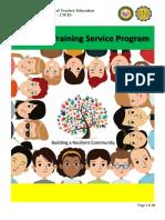 The National Service Training Program PDF