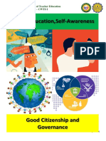 Values Education, Self-awareness and Good Governance pdf.