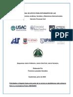 ESQUEMA JUICIO ORDINARIO, JUICIO SUMARIO , JUICIO CIVIL,  FRANCISCO POSADAS.doc · versión 1.pdf