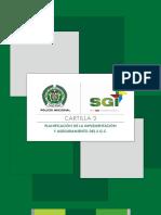 3. Planificacion para la implementacion y aeguramiento del SGC