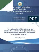 Criterios Jurisprudenciales - laboral CANG 2020