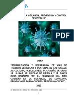 Informe Protocolo Seguridad - Pistas