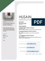 HUSAIN cv