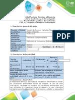 Guía de actividades y rúbrica de evaluación - Fase 3 - Construir Indicadores Ambientales
