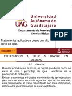 presentacion 1, AGUA DE FORMACION, Flujo Multifasico