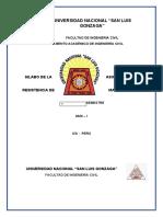silabus de resistencia de materiales ii.docx
