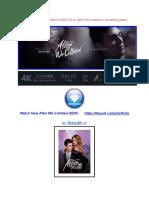 Regarder After We Collided (2020) HD en Ligne Film Complet en Streaming Gratuit