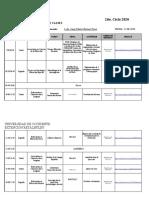 PLANIFICACION SÁBADO  15-08-2020